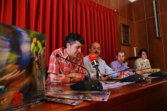 Presentación de la 33 Ruta Cicloturista Internacional de la Reconquista