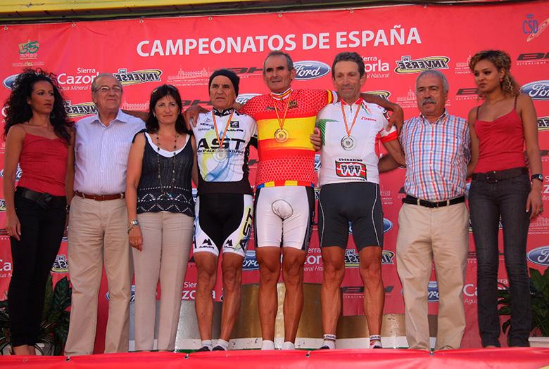 Finalizaron los Campeonatos de España Junior, Máster y Sénior