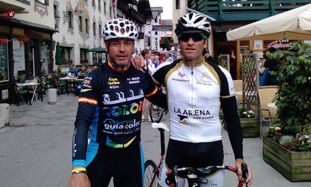 Gancedo y Cástor terminaron el Campeonato del Mundo Máster