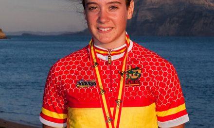 Alicia González, Campeona de España en Línea