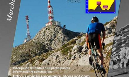 Marcha cicloturista Subida al Gamoniteiru
