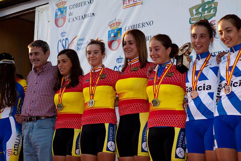 Comenzaron los Campeonatos de España Inftantil y Cadete