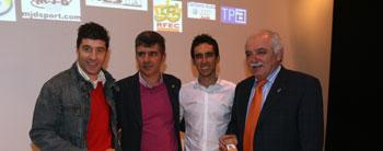 El ciclismo asturiano homenajea a sus corredores