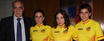 Lucía González, vencedora oficialmente de la Copa de España de Ciclismo 2010