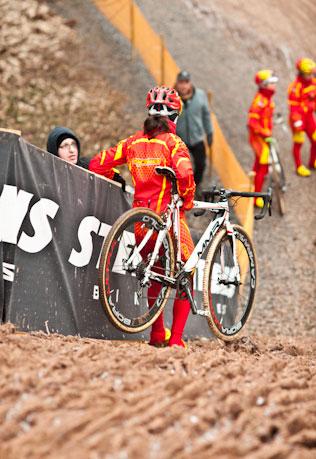 Finalizó el Cpto. del Mundo de Ciclocross de féminas élite