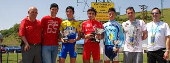 El colombiano, Calderón, vencedor en Cotobello