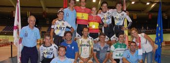 Once medallas para Asturias en los nacionales de pista cadete