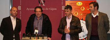 Presentación del III Trofeo Villa de Gijón, Copa de España de Ciclocross