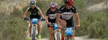 Aida y Cástor vencedores de la Vuelta a Ibiza en BTT