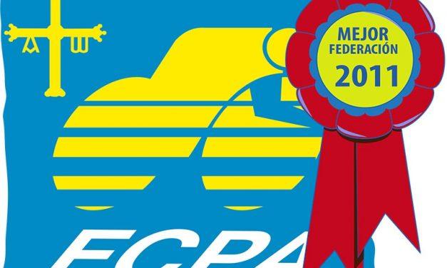 La FCPA galardonada como mejor federación