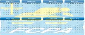 Calendario de ciclocross 2014