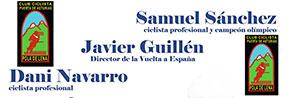 Samu, Dani Navarro y Javier Guillén en Pola de Lena