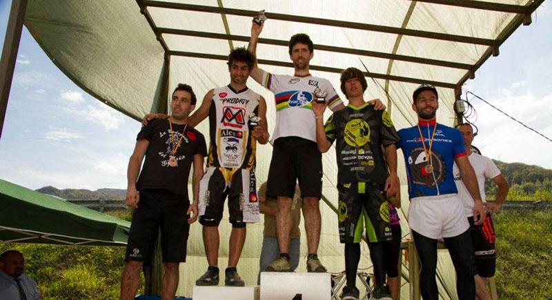 Alonso Campeón de Asturias de Trial