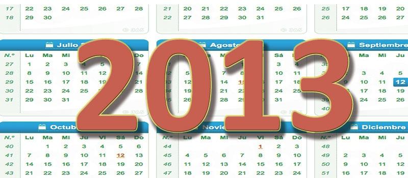 Cambios en el calendario