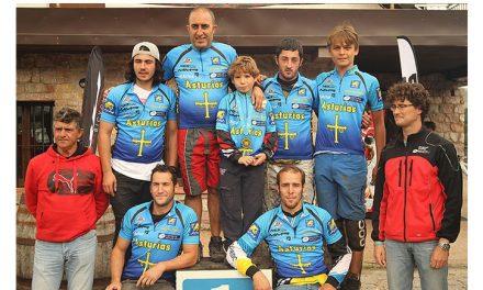 Saúl Martín Campeón de Asturias de Descenso