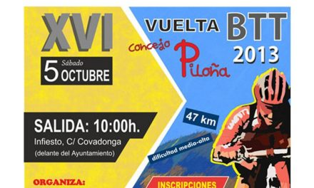 XVI Vuelta BTT al Concejo de Piloña