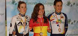 Alicia consigue la primera medalla
