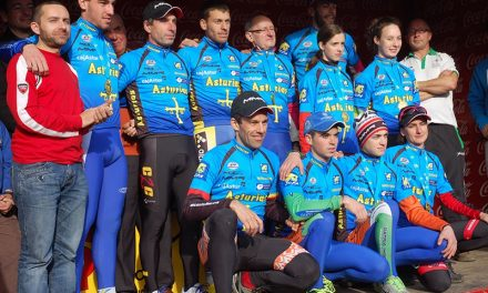 Aida y Abel Campeones de Asturias