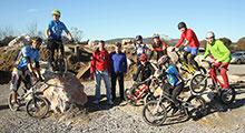 Inaugurado el tercer circuito de Trial Bici