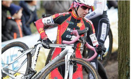 Sobresaliente actuación de Aida en el Mundial de ciclocross