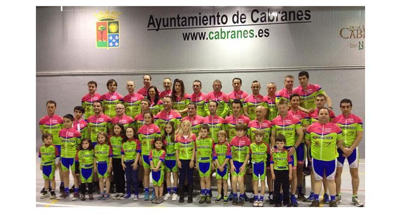 Presentación del Team Bike Cabranes 2014
