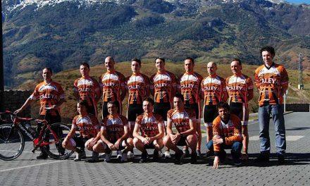 Presentación del Club Ciclista Nalónteam para el 2014