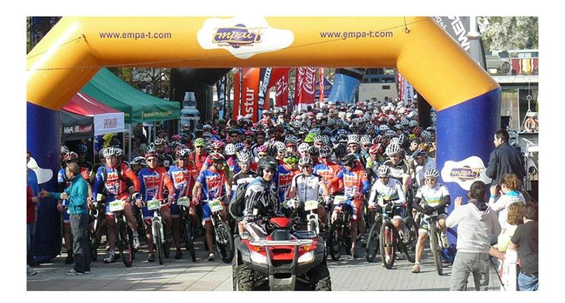 700 Cicloturistas por los montes del Sella y Sueve