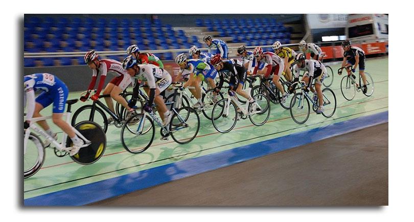 Concentración de la selección junior de pista en Valencia