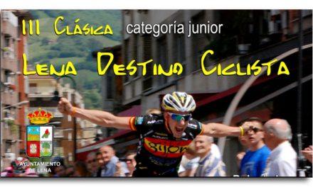 III Clásica Lena destino ciclista