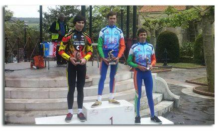 Richard Brun primer líder del Trofeo Asturcántabro cadete