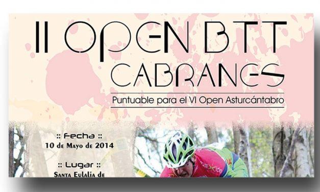 II Open BTT Cabranes
