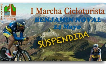 """Suspendida la I Marcha Cicloturista """"Benjamín Noval"""""""