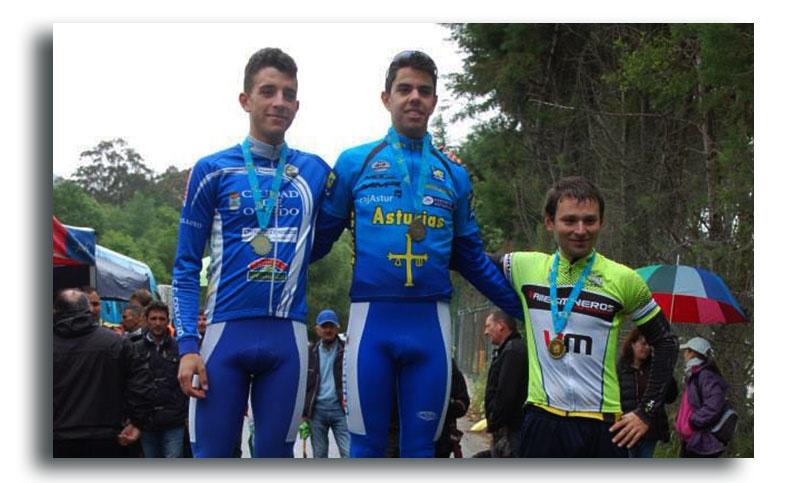 Durán Campeón de Asturias de Cronoescalada