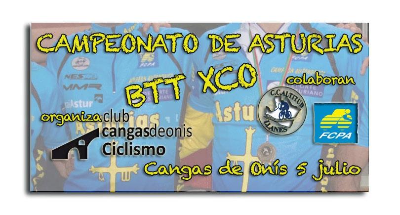 CTO. de Asturias BTT XCO en Cangas de Onís