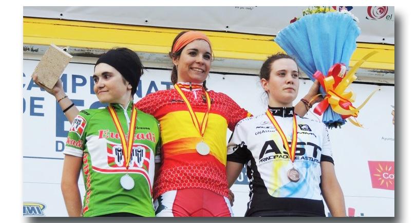Bronce para Alicia González en categoría sub 23