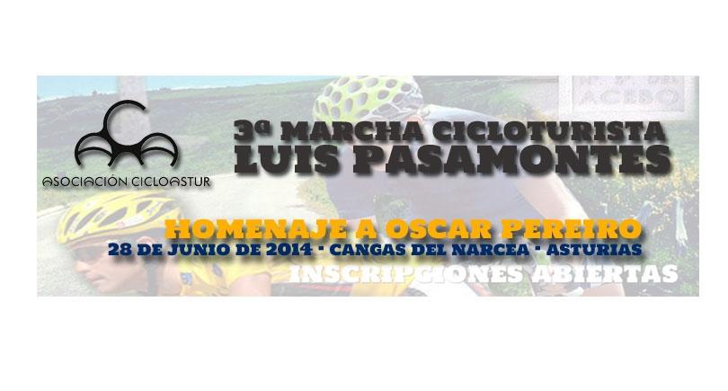 3ª Marcha Cicloturista Luis Pasamontes