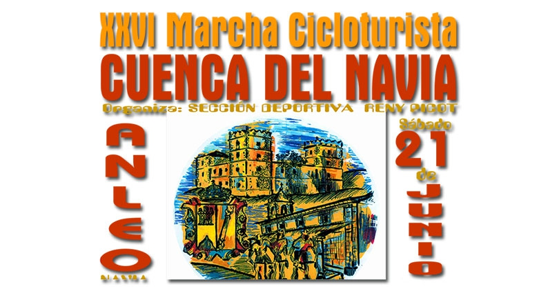 """XXVI Marcha cicloturista """"Cuenca del Navia"""""""