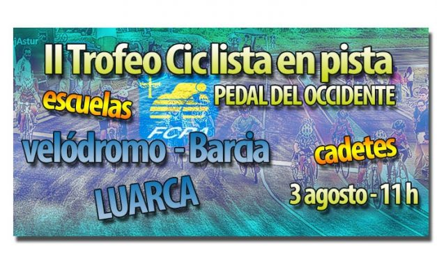 II Trofeo ciclista en Pista Pedal del Occidente