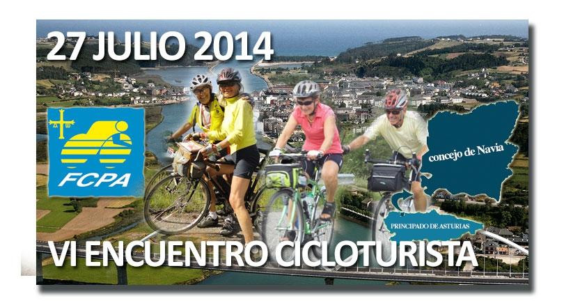 VI Encuentro cicloturista en Asturias