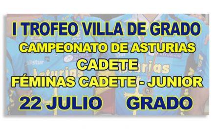 I Trofeo Villa de Grado – CTO. de Asturias cadete