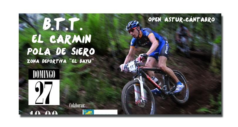 VIII BTT El Carmín, Pola de Siero – Domingo 27 – 12 horas