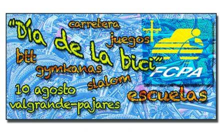 """""""Día de la bici"""" en Valgrande-Pajares, próximo 10 de agosto"""