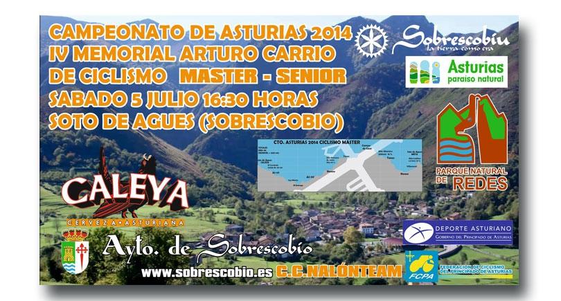 IV Memorial Arturo Carrio – CTO. Asturias máster-sénior