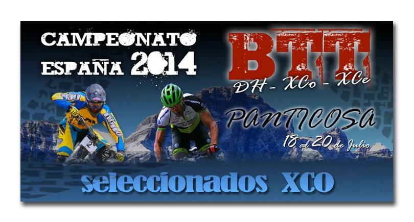 Seleccionados para el BTT XCO de Panticosa