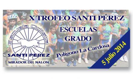 X Trofeo Santi Pérez para escuelas de ciclismo
