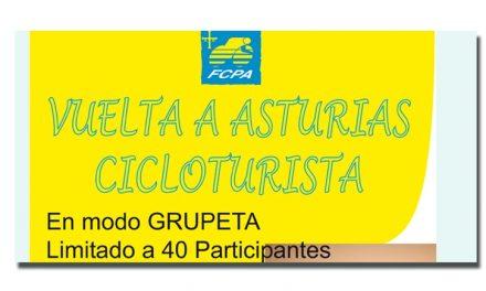 Vuelta a Asturias cicloturista, 15-16-17 agosto