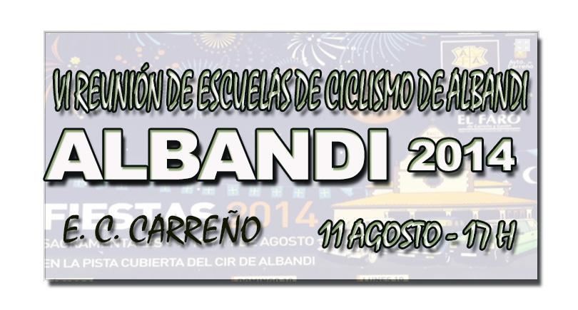 VI Reunión de escuelas de ciclismo de Albandi