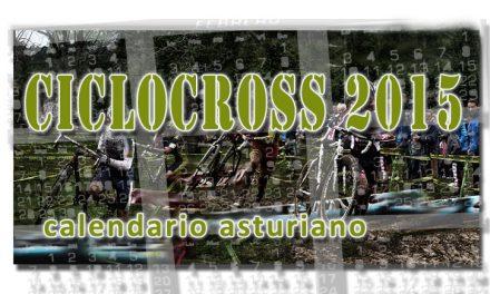 Calendario asturiano de ciclocross 2015