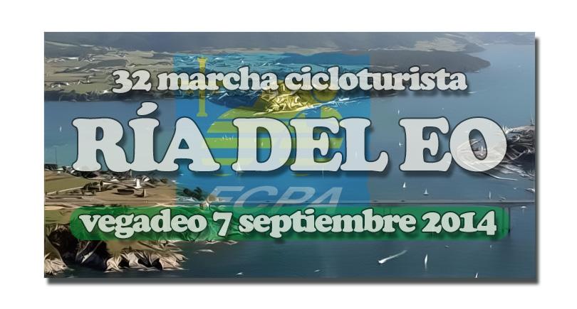 """32 Marcha cicloturista """"Ría del Eo"""", Vegadeo"""