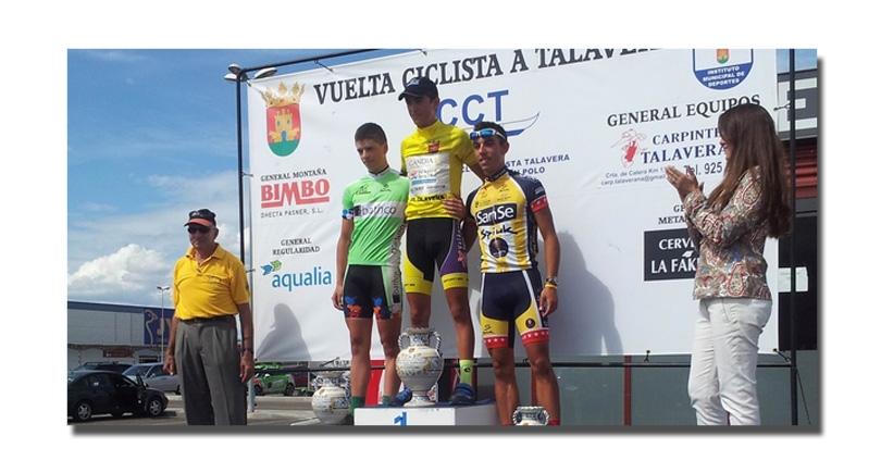 Miranda segundo en la Vuelta a Talavera junior